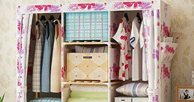armoire pliante fleurie