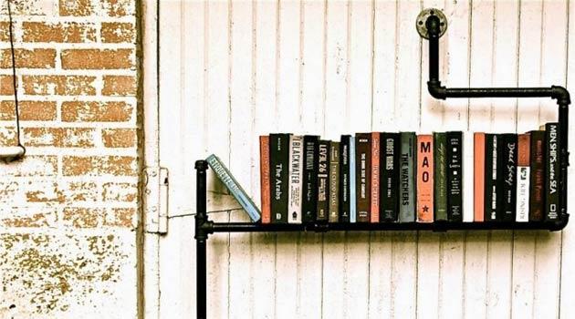 5 tag res originales pour ranger vos livres dans le salon comment ranger. Black Bedroom Furniture Sets. Home Design Ideas